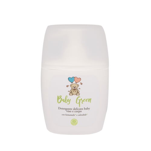 Detergente delicato viso e corpo con Avena e Camomilla
