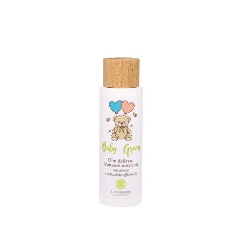 Olio delicato idratante nutriente Alma Green