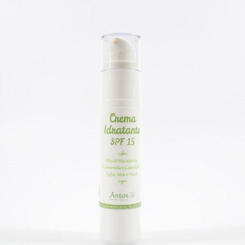 Crema viso idratante SPF 15 Antos