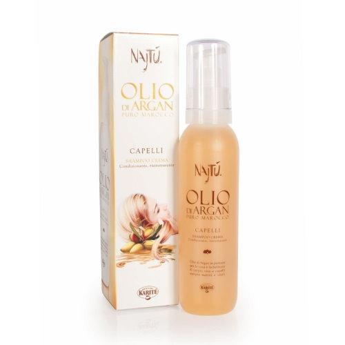 Shampoo crema condizionante ristrutturante Najtu