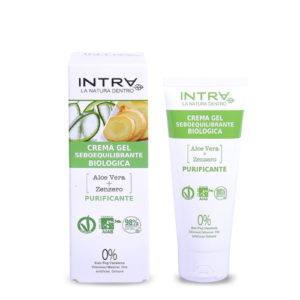 Crema gel seboriequilibrante Aloe & Zenzero INTRA