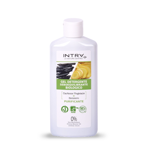Gel detergente purificante Carbone & Zenzero