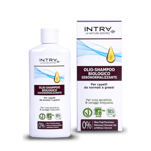 Olio shampoo biologico INTRA