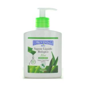 Sapone liquido biologico Aloe I Provenzali