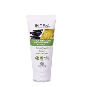 Scrub esfoliante Carbone & Zenzero INTRA