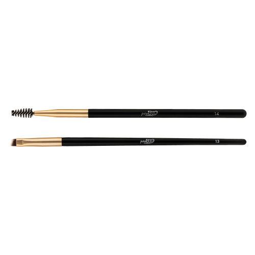 Kit pennelli per sopracciglia – Pennello n.13 + Scovolino n.14