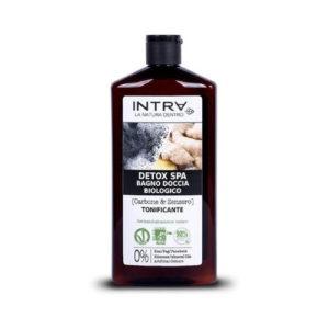 Bagnodoccia detox Carbone e Zenzero INTRA