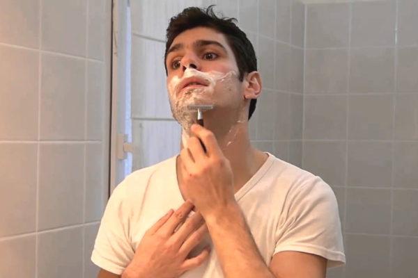 schiuma da barba bio