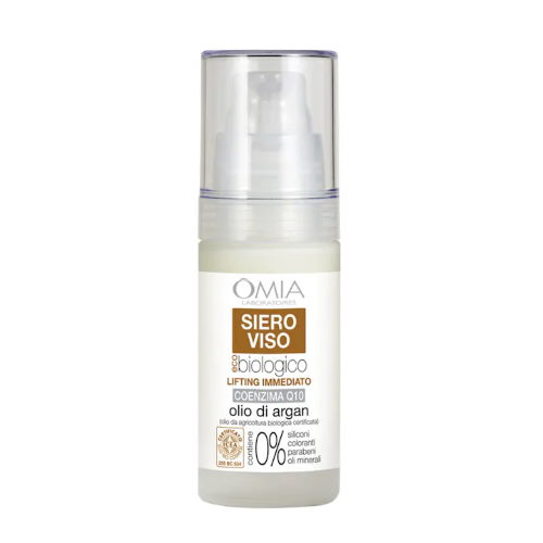 Siero viso lifting immediato Olio di Argan Omia Laboratoires