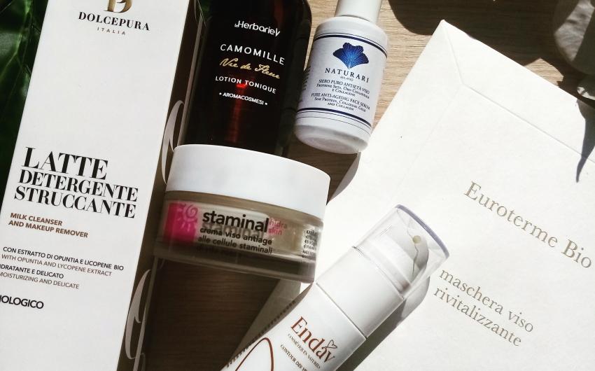 Skin care routine estiva BIO: ecco quali prodotti scegliere