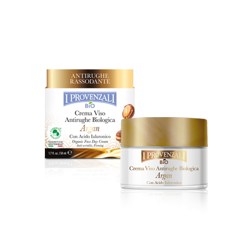 Crema viso biologica Argan e Acido Ialuronico I Provenzali