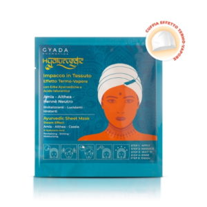 Impacco in tessuto Amla, Althea, Henné Neutro Hyalurvedic Gyada Cosmetics