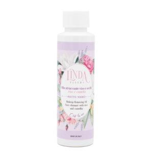 Olio struccante detergente viso Linda Fleurs
