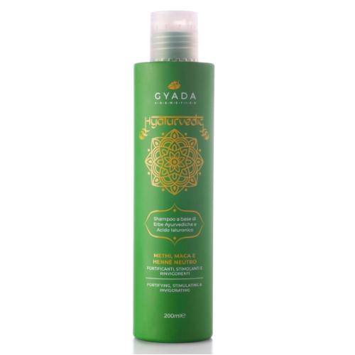 Shampoo Methi, Maca e Henné neutro Hyalurvedic Gyada Cosmetics