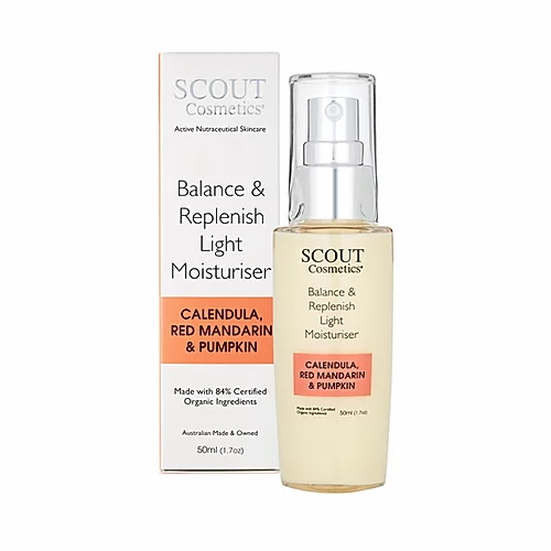 Crema riequilibrante Balance & Replenish Scout