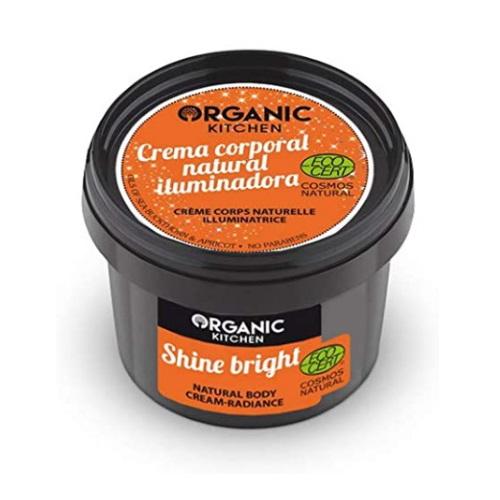Crema corpo illuminante Shine Bright Organic Kitchen