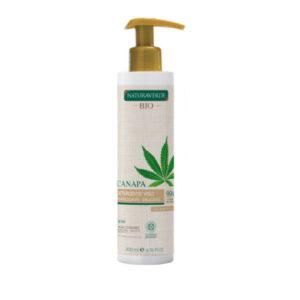 Detergente viso rinfrescante delicato Canapa Naturaverde BIO