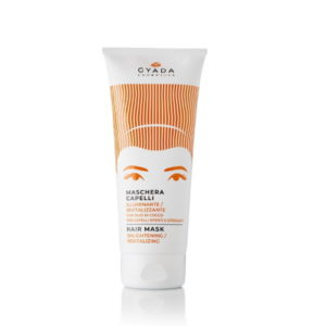 Maschera capelli illuminante e rivitalizzante Gyada Cosmetics