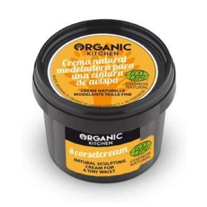 Crema corpo modellante Corset Cream Organic Kitchen