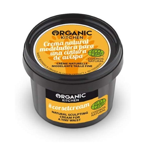 Crema corpo modellante Corset Cream Organic Kitchen
