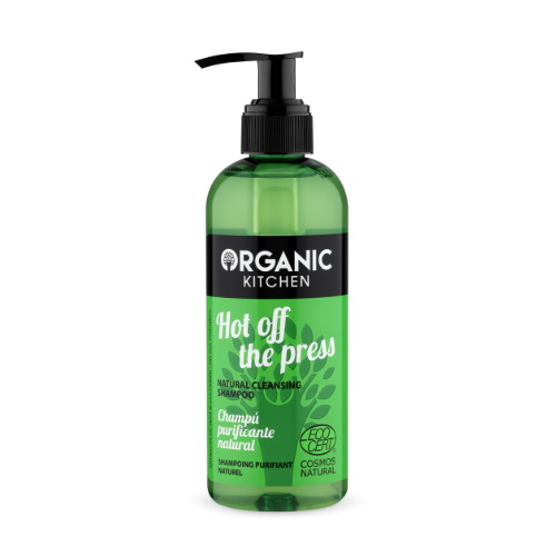 Shampoo Hot of the Press Organic Kitchen