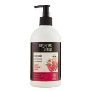 Sapone vitaminico mani Melograno & Patchouli Organic Shop