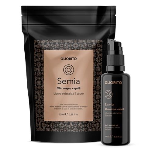Semia, olio corpo e capelli OLIORITO