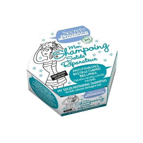 Shampoo solido riparatore Secrets de Provence