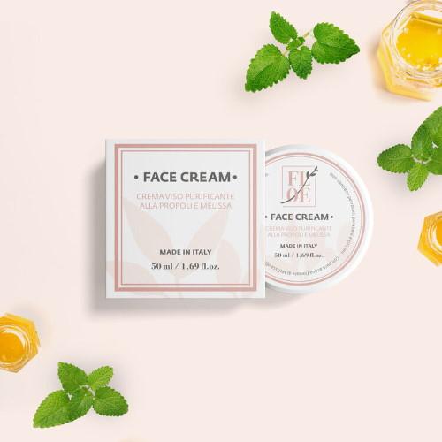 Crema viso purificante Propoli e Melissa Floe Lab