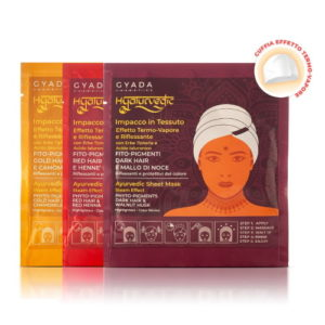 Impacco capelli in tessuto riflessante Hyalurvedic Gyada Cosmetics