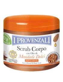 scrub corpo con olio di mandorle dolci i provenzali