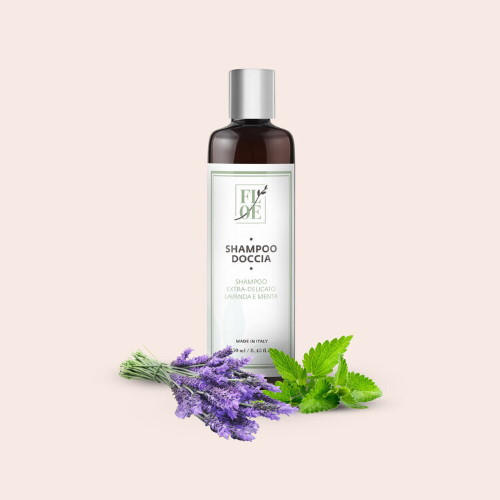 Doccia shampoo naturale Lavanda e Menta Floe Lab