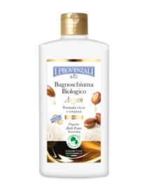 bagnoschiuma biologico argan i provenzali
