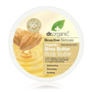 Burro corpo al Burro di Karité Dr Organic