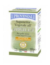 saponetta vegetale all'argilla i provenzali