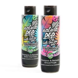 Shampoo Balsamo Natura Pop
