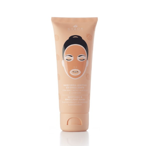 Maschera lenitiva ed emolliente Gyada Cosmetics