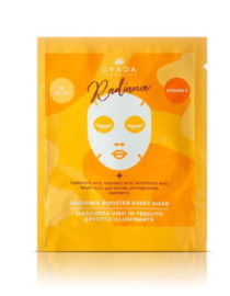 radiance booster sheet mask gyada cosmetics