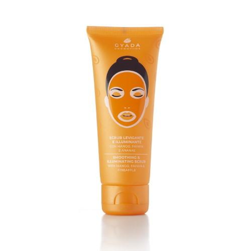 Scrub viso levigante e illuminante Gyada Cosmetics