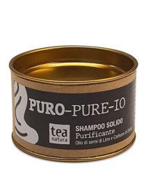 shampoo solido purificante tea natura
