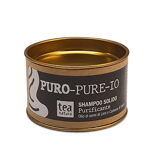 Puro-Pure-Io Shampoo Solido Purificante Tea Natura