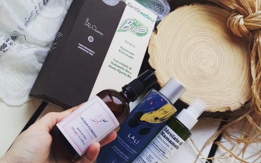 Tonico viso naturale: alcuni prodotti consigliati