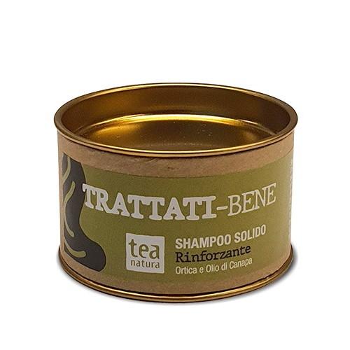Trattati-Bene Shampoo Solido Rinforzante Tea Natura