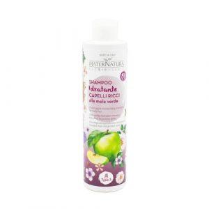 Shampoo idratante capelli ricci alla Mela Verde Maternatura
