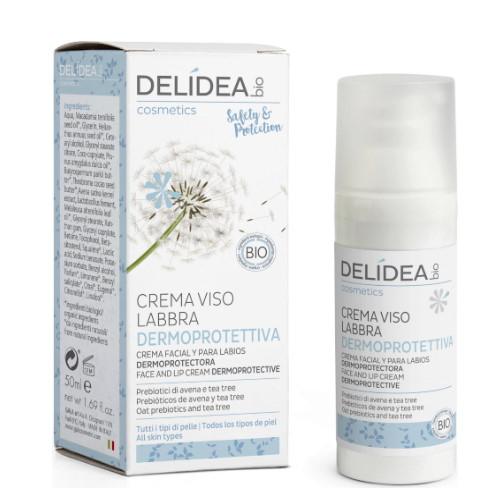Crema viso labbra dermoprotettiva Delidea