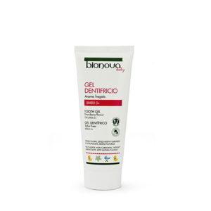 Gel dentifricio aroma fragola bimbo 3+ Bionova