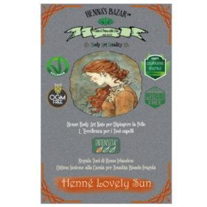Hennè Lovely Sun in polvere Henna's Bazar