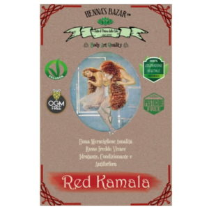 Red Kamala in polvere Henna's Bazar