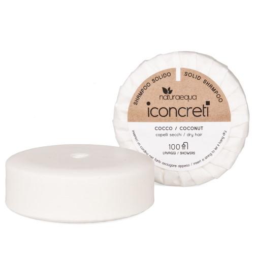 Shampoo solido capelli secchi al Cocco iConcreti Naturaequa