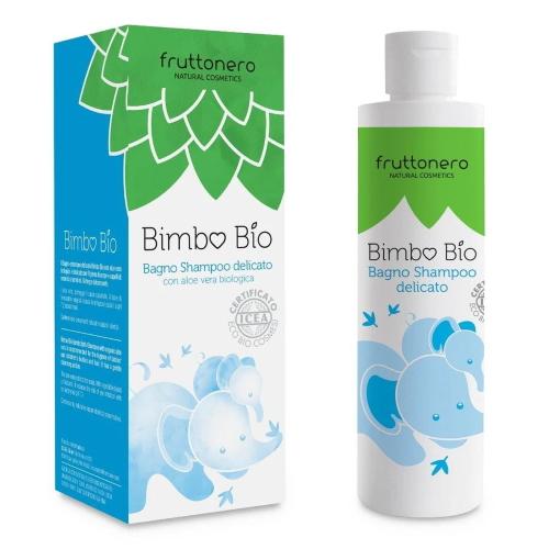 Bagno shampoo delicato Bimbo Bio Fruttonero